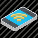 hotspot, mobile internet, signal strength, wifi, wifi signals icon