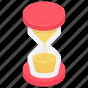 sand clock, sandglass, sandglass timer, time hourglass, vintage sandglass icon