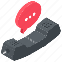 call, calling, landline call, telecommunication, telephone call icon