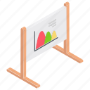 area chart, area graph, business presentation, charting application, graphical representation icon