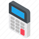 account, calculation, calculator, estimation, figuring icon