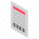 billing invoice, delivery invoice, invoice, invoice printing, invoice template icon