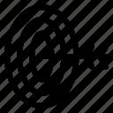 aim, business, focus, goal, market, target icon