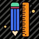 creative, design, draw, line, pencil