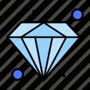 diamond, premium, value icon