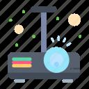 beamer, light, presentation, projector icon