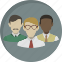 community, customers, group, people, staff, team, users icon