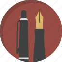 design, drawing, handwriting, office, pen, pencil, writing icon