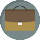 bag, brief-case, briefcase, business, business briefcase, case, office icon