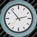 clock, deadline, morning, time, wait, wall clock, watch icon