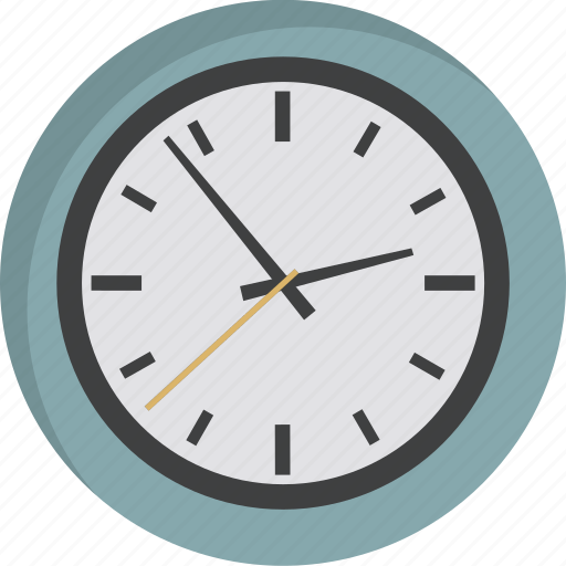 clock, deadline, morning, time, wait, wall clock, watch icon
