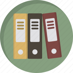 archieve, archive, books, documents, files, folders, history icon