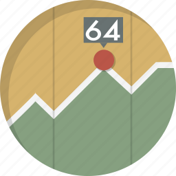 analytics, chart, diagram, graph, report, results, statistics icon