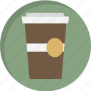 beverage, cappuchino, coffee, coffee latte, cup, drink, mug icon