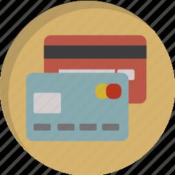 card, credit, creditcard, mastercard, money, paying, visa icon