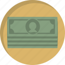 cash, dollars, finance, money, paying, payment, shopping icon