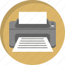 copy, document, office, paper, print, printer, printing icon