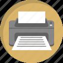 copy, document, office, paper, print, printer, printing icon