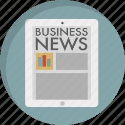 article, magazine, media, news, newsletter, newspaper, press icon