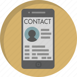 call, communication, contact, contact list, mobile, phone, phonebook icon