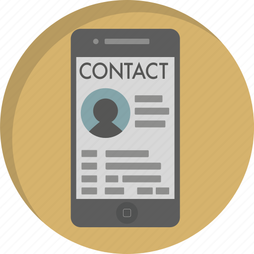 Business Contact: Call, Communication, Contact, Contact List, Mobile, Phone