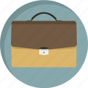 bag, briefcase, business, business man, case, office, suitcase icon