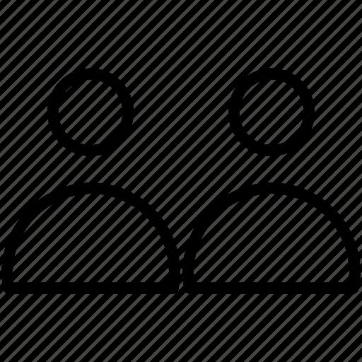 account, profile, user icon icon
