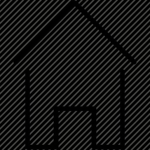 home, house, property icon icon