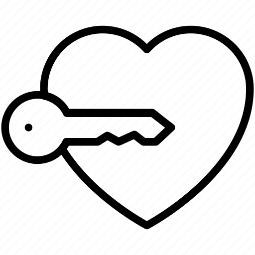 business, keylock, love, people icon icon