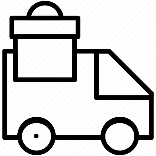 car, delivery, truck icon icon