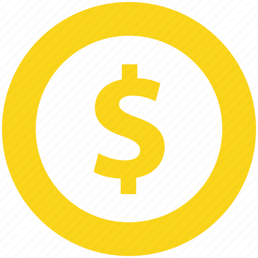 Coin, currency, dollar, dollar sign, finance, money icon - Download on Iconfinder
