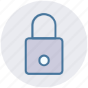 lock, locked, padlock, password, secure, security icon