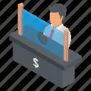 bank counter, bank enquiry, bank office, bank reception, bank service icon