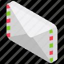 airmail, letter, mail, postal service, retro correspondence icon