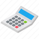 account, calculation, calculator, estimation, figuring icon