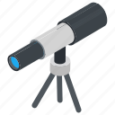 astronomy, spyglass, telescope, search, vision