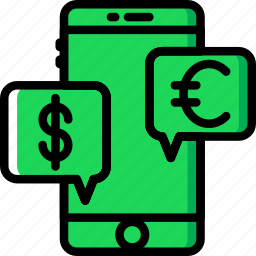 business, discussion, finance, marketing, money icon