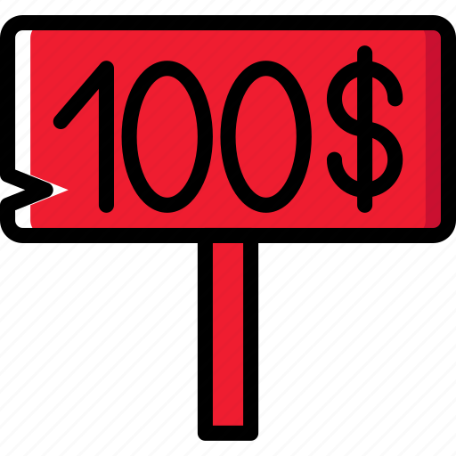 business, finance, marketing, money, sign icon