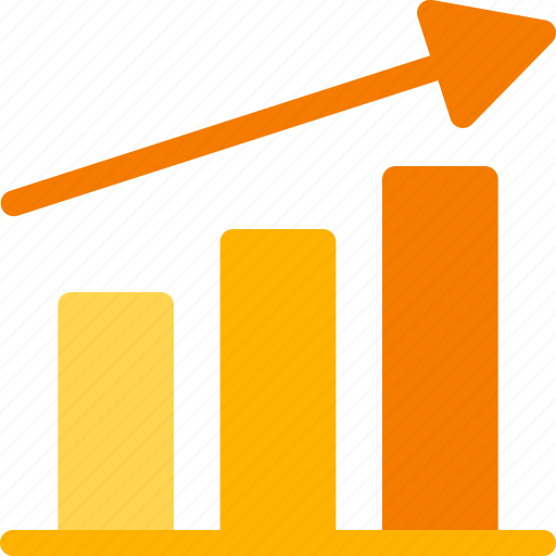 business, career, chart, finance, growth, job, marketing icon