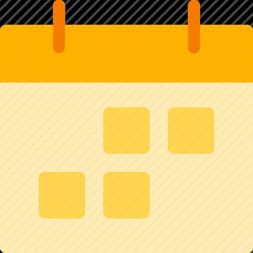business, calendar, career, finance, job, marketing icon