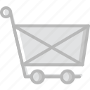 marketing, shopping, business, cart, finance icon