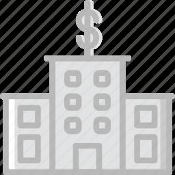 bank, business, finance, marketing icon