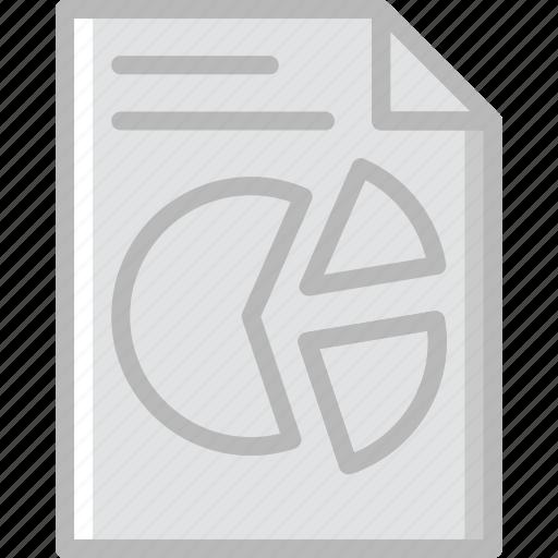 analytics, business, file, finance, marketing icon