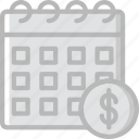 business, date, finance, marketing, money icon