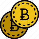 bitcoint, business, finance, marketing icon