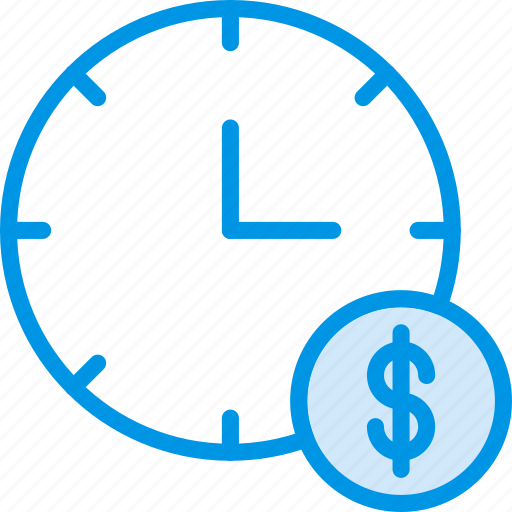 business, finance, is, marketing, money, time icon
