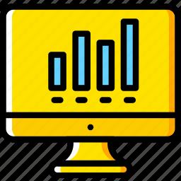analytics, business, finance, marketing icon
