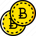 bitcoint, business, finance, marketing icon