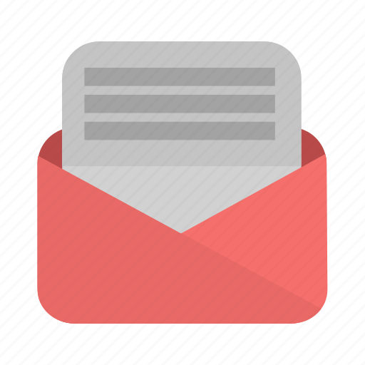 email, evelope, letter, mail, message, send icon