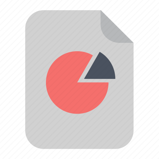 business, chart, document, file, finance, page, pie icon